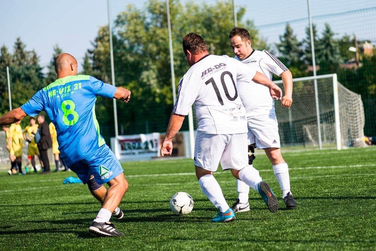 Összemérték futballtudásukat az infrastruktúra-építés bajnokai