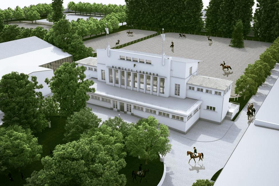 Három pályával épül újjá a 19. századi Nemzeti Lovarda