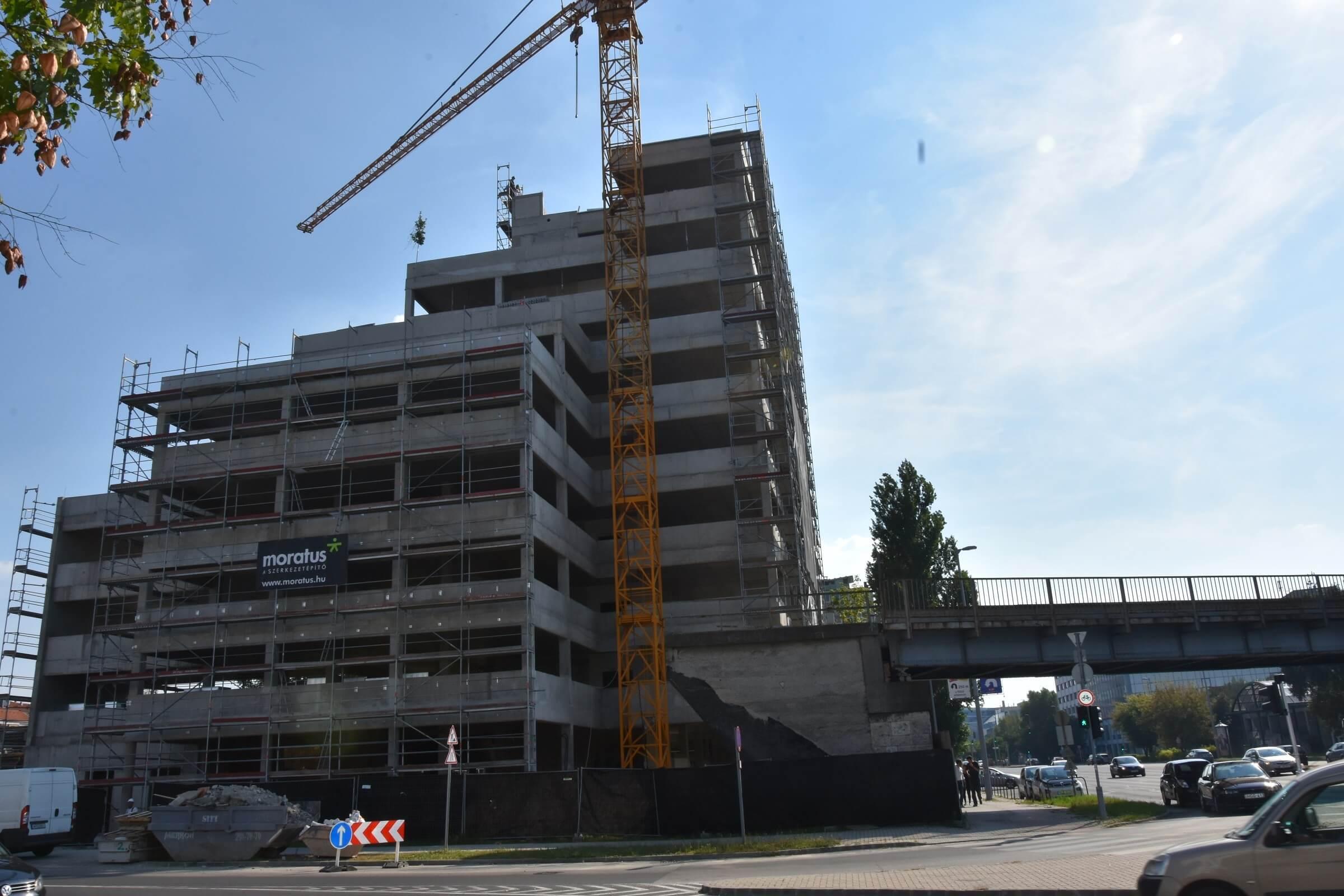A NEXON környezetbarát beruházásával bővül tovább a Váci úti irodafolyosó