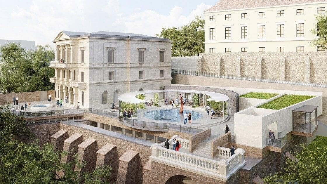 Hamarosan folytatódhat a Lónyay-Hatvany Villa felújítása
