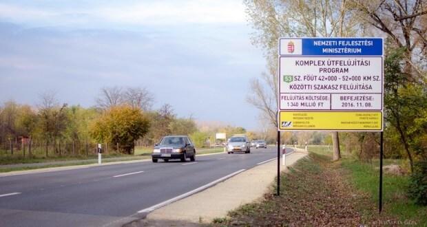 Napi 12 ezer autós útját könnyítette meg a Duna Aszfalt és a Hódút Soltvadkertnél