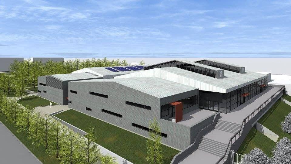 Teljesen átépítik Cegléd sportcsarnokát, elkészültek a látványtervek
