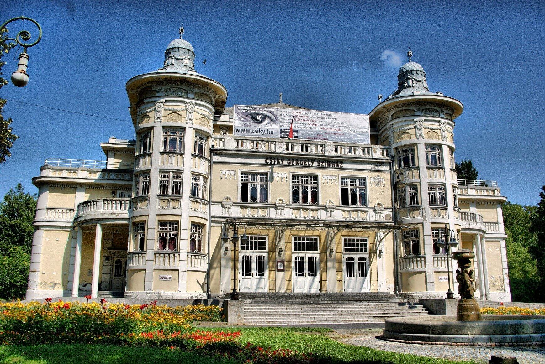 Teljes rekonstrukción esik át Kaposvár 105 éves színháza