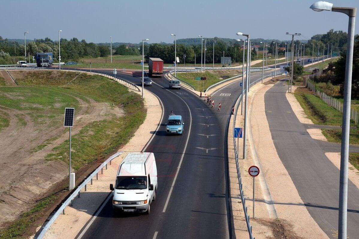 A Duna Aszfalt építi a kecskeméti elkerülő út befejező szakaszát