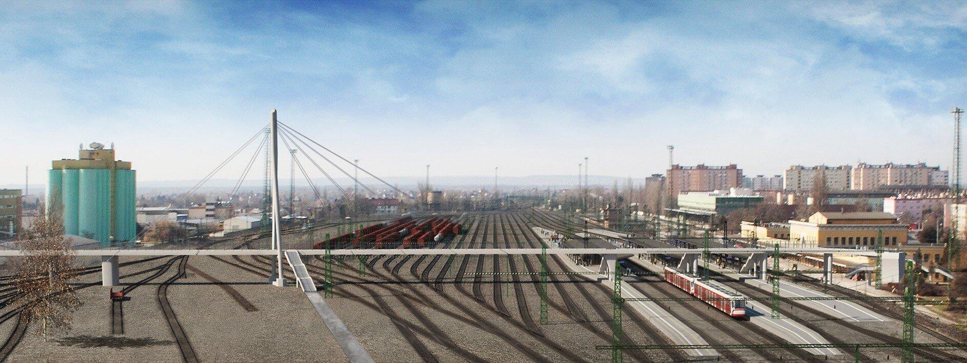 9 milliárd forintból fejlődhet Közép-Magyarország vasútvonala