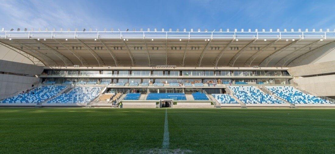 Európában is egyedinek számító stadiont épített a ZÁÉV és a Westbau