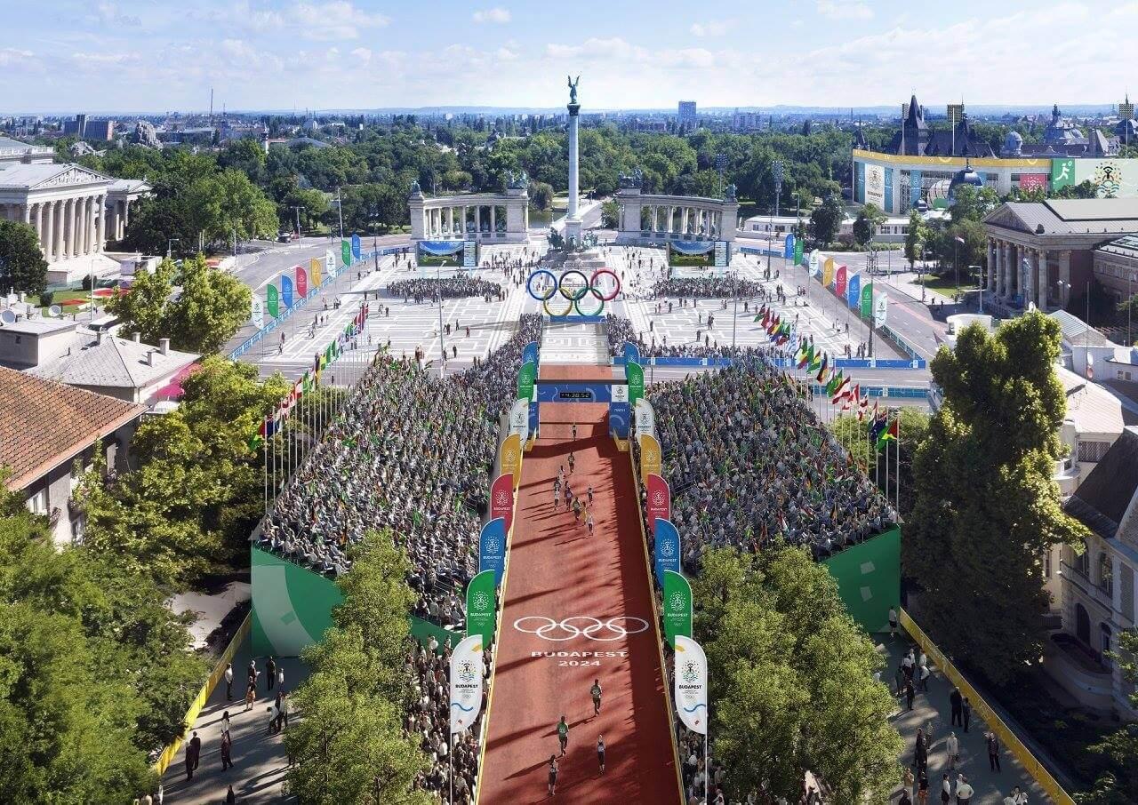 Így nézne ki a Hősök tere stadion és a Kossuth téri íjászközpont