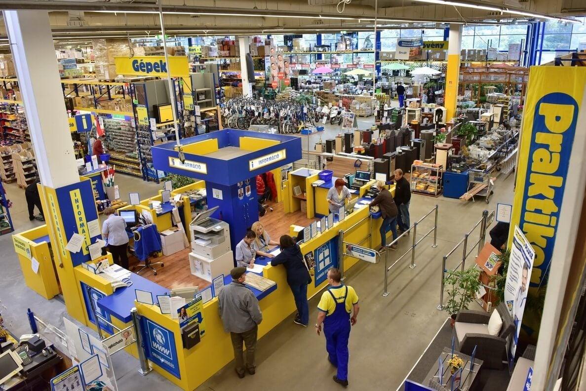 Tizenkétezer négyzetméteres áruházat nyitott Budapesten a Praktiker