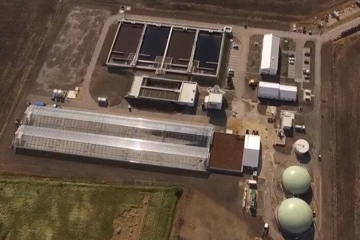 Elkészült Siófok új szennyvíztelepével az Euroaszfalt és a Colas