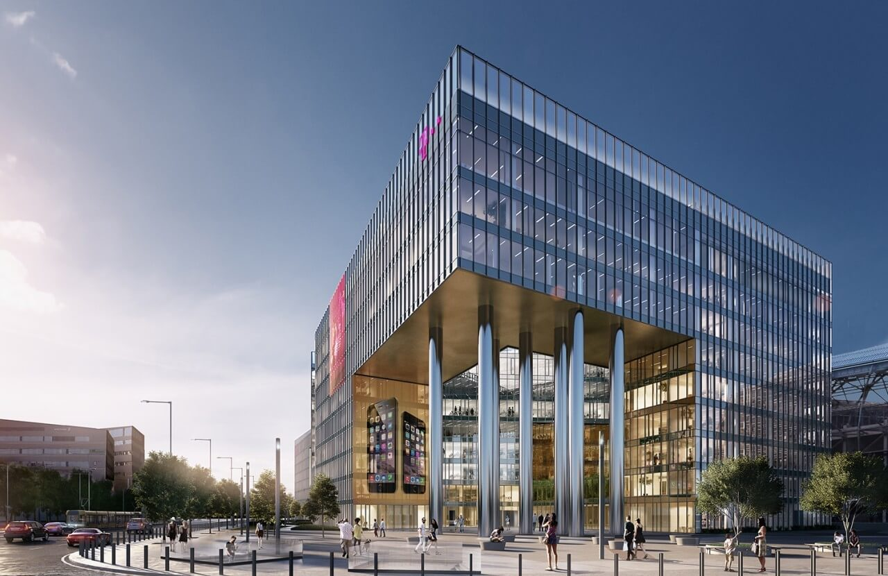 19 mélykutat kellett fúrnia a Marketnek a Telekom-székház építésénél