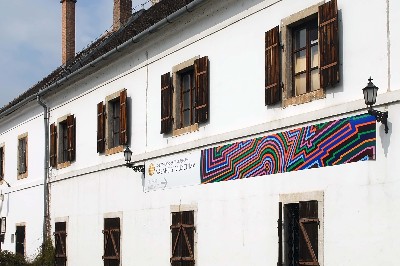 Felújítják a Vasarely-múzeumnak otthont adó Zichy-kastélyt