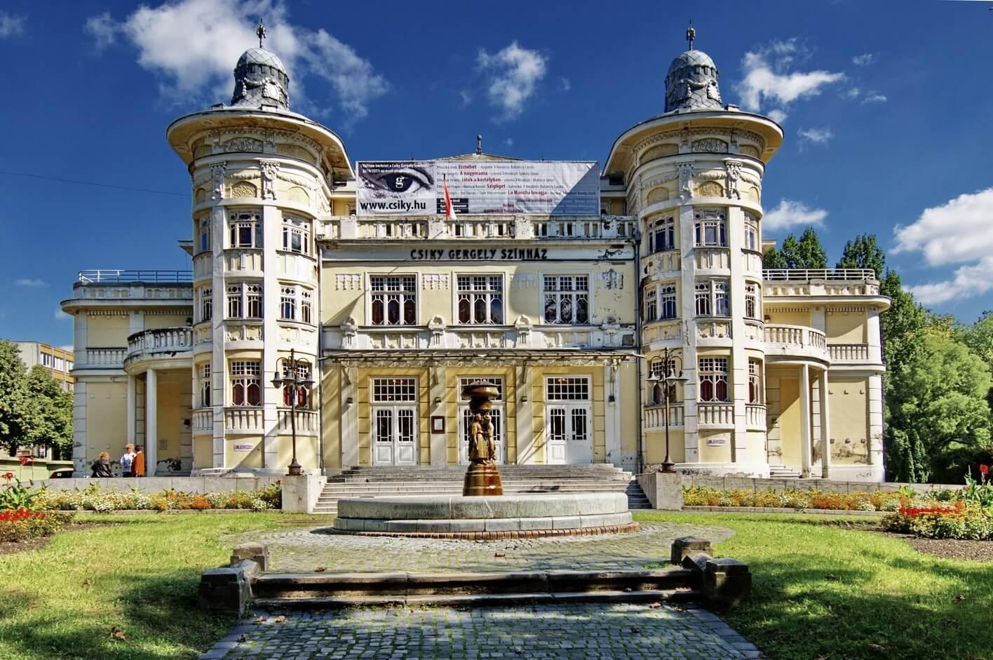 A Magyar Építő és a ZÁÉV közösen végeznek nagyszabású színházfelújítást Kaposváron