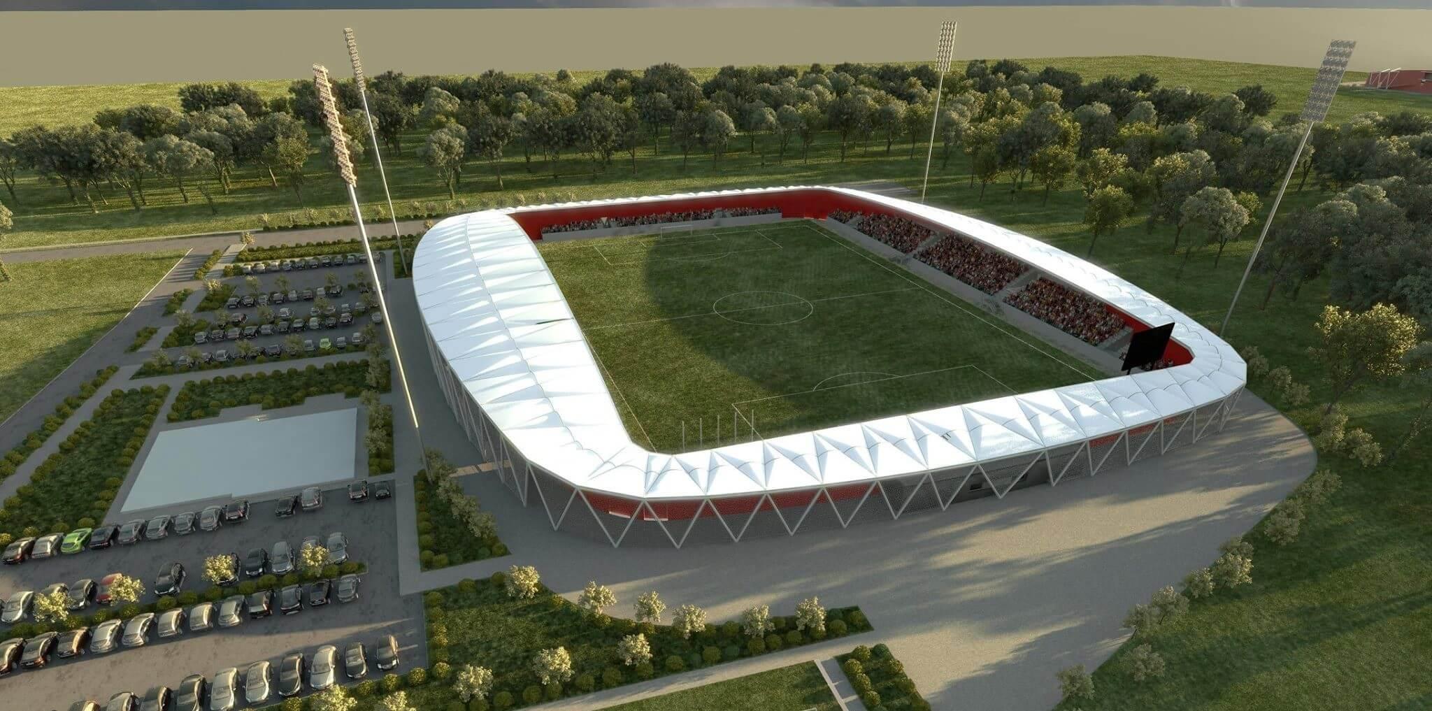 Kivitelezőre talált Kisvárda futballstadionja