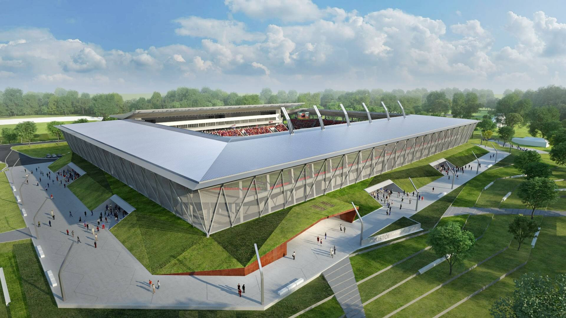 A Strabag építi Székesfehérvár Sóstói Stadionját