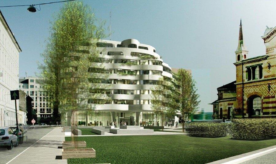 Új szálloda épül Budapest szívében