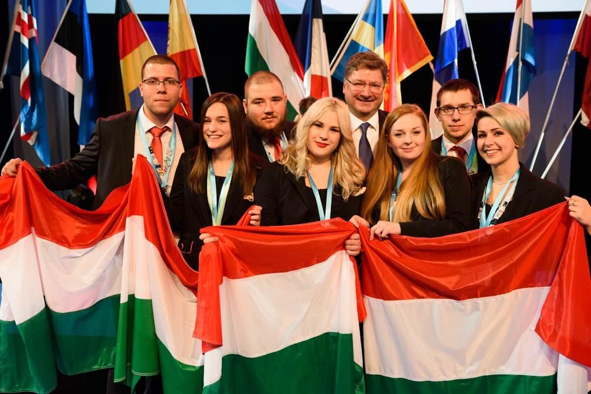 Magyarország ötödik lett a fiatal szakemberek Európa-bajnokságán