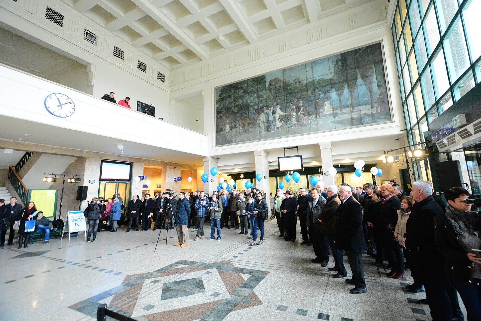 Minden fejlesztés elkészült Székesfehérvár vasútállomásán