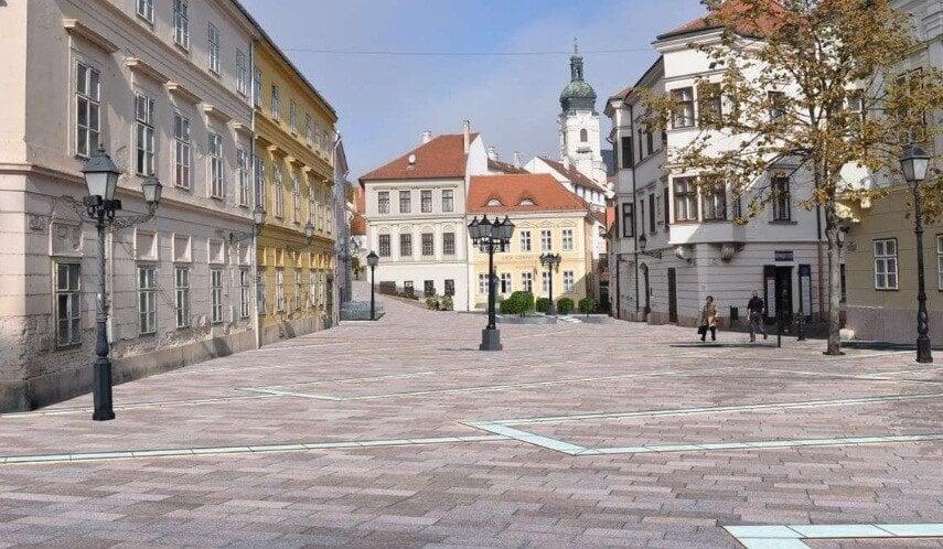 Közúti fejlesztésekre és a belvárosa szépítésére kapott forrást Győr