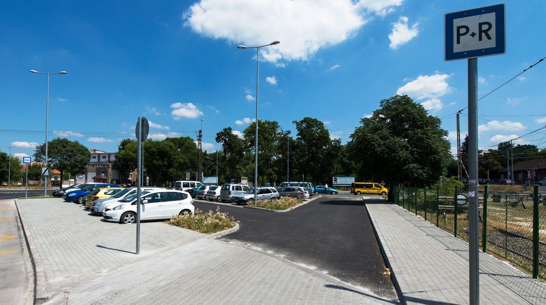 Díjmentes parkolók épültek a hűvösvölgyi villamos-végállomásnál