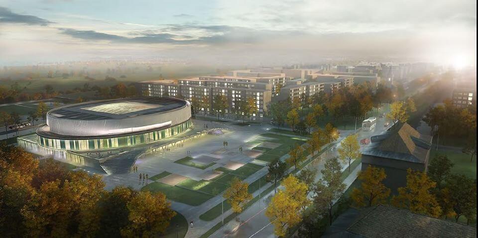 Zöld sportcsarnokot kap a kelet-budapesti régió