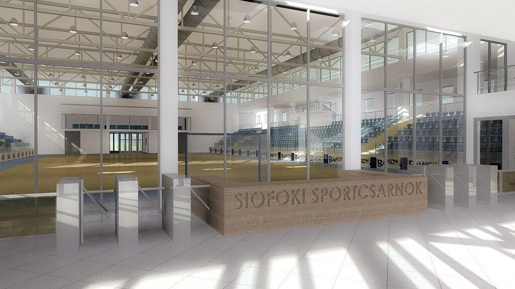 Jövő év végére fejeződhet be a siófoki sportcsarnok építése