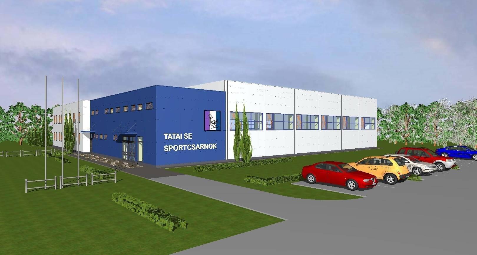 Elkészült Tata új sport- és rendezvénycsarnoka
