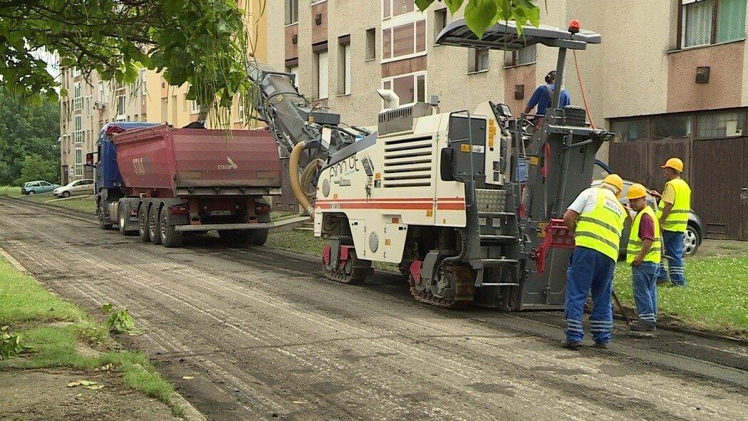 67 utca felújítása fejeződött be Békéscsabán