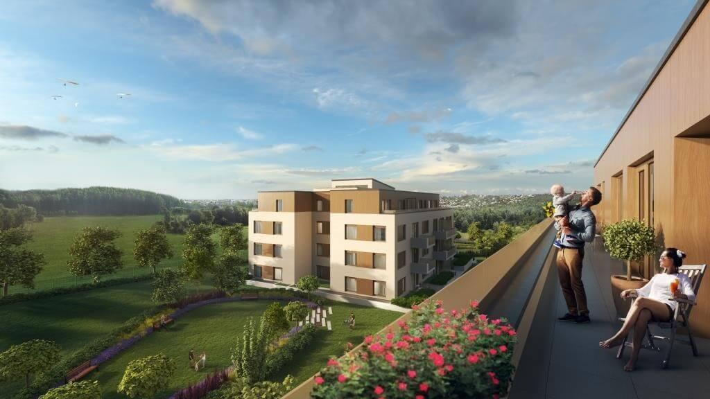850 új lakás épül Buda nyugati kapujánál