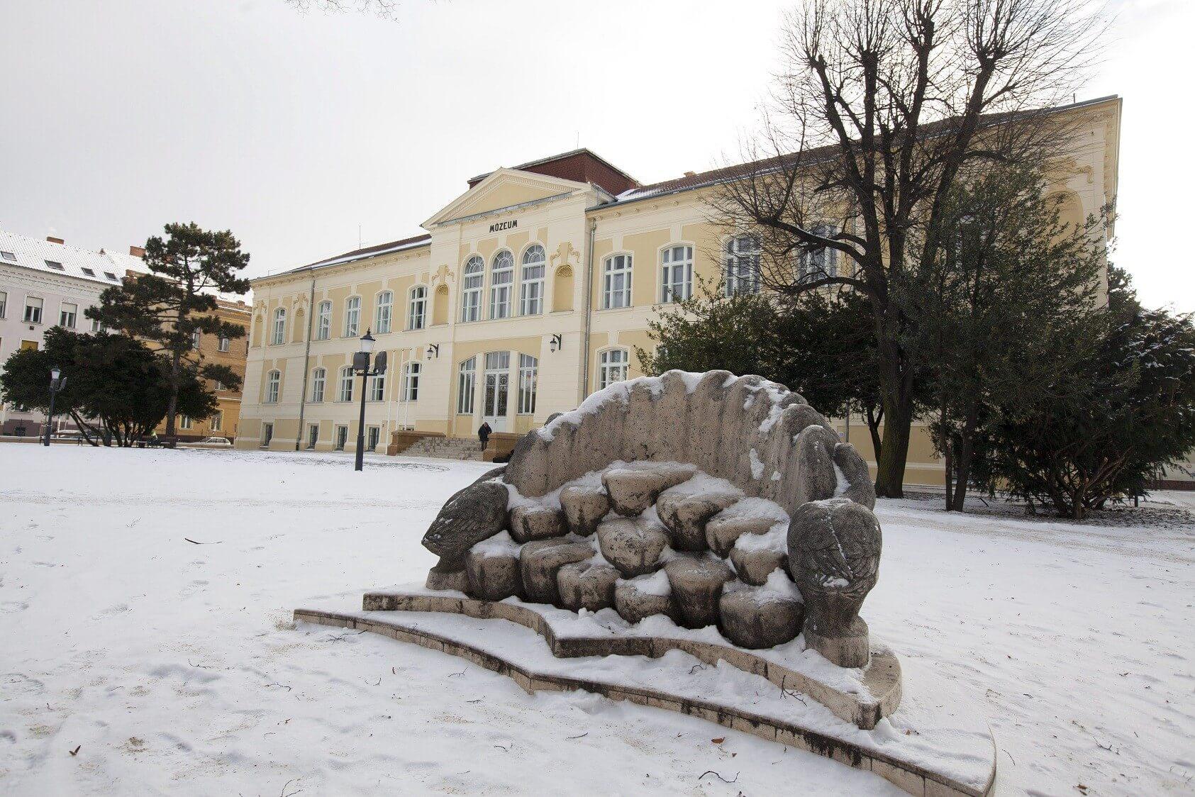 Halad a Szent Márton terv kivitelezése: elkészült a Savaria Múzeum