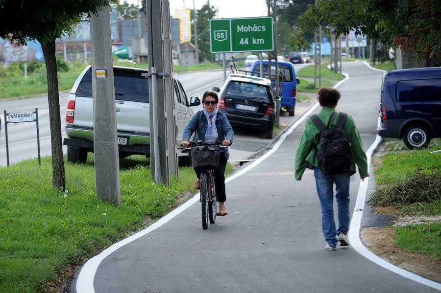Háromszor hosszabb lesz Szekszárd kerékpárút-hálózata