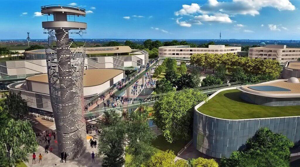 A ZÁÉV építi fel a Pallas Athéné Egyetem campusának első elemét