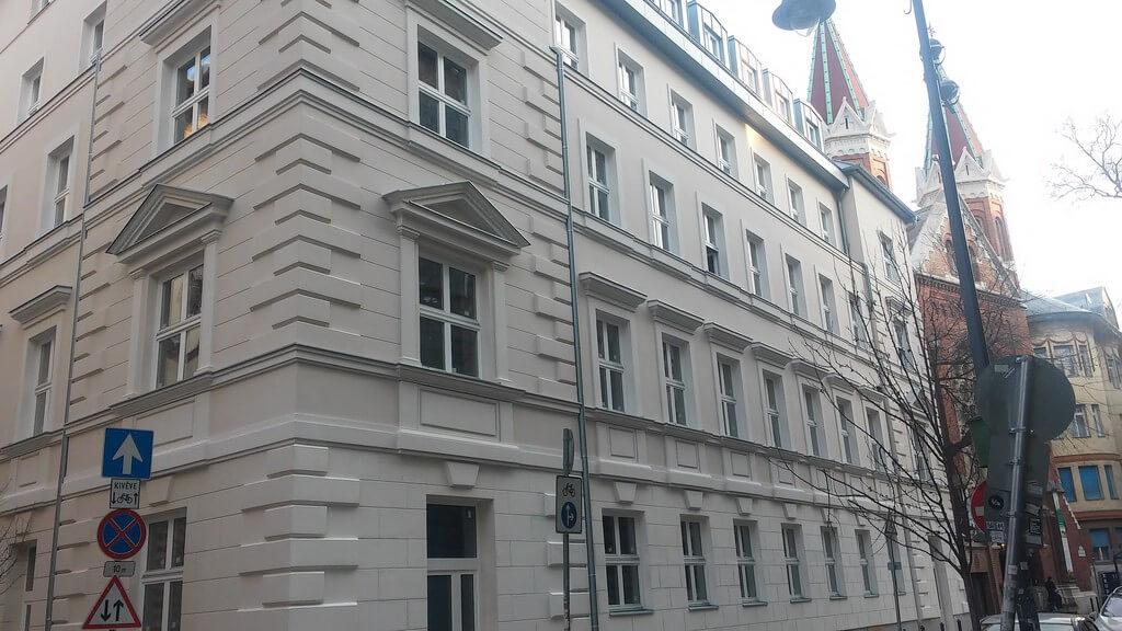 Új kollégiumot építtet Budapest belvárosában a Károli Gáspár Egyetem