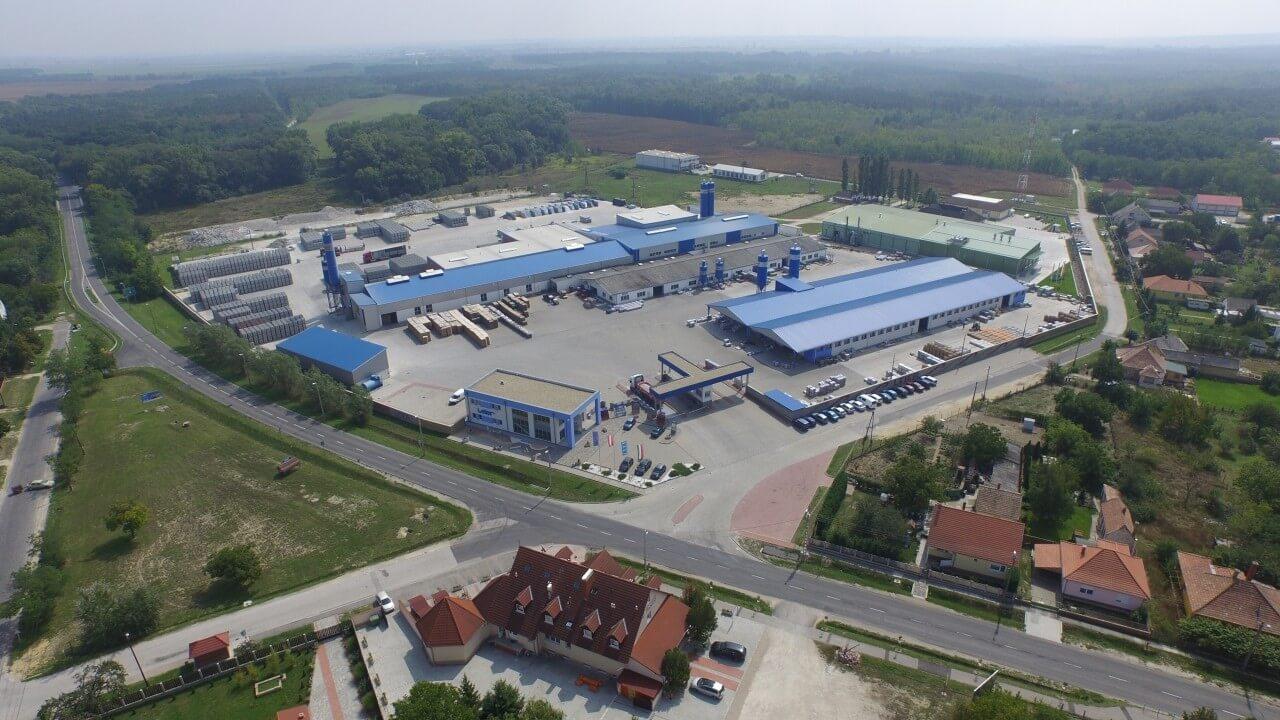 Elkészült a Leier 2500 négyzetméteres új üzeme