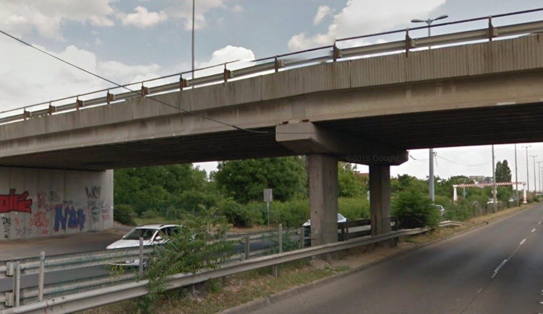 Megújul az M5-ös egyik közúti hídja a fővárosban