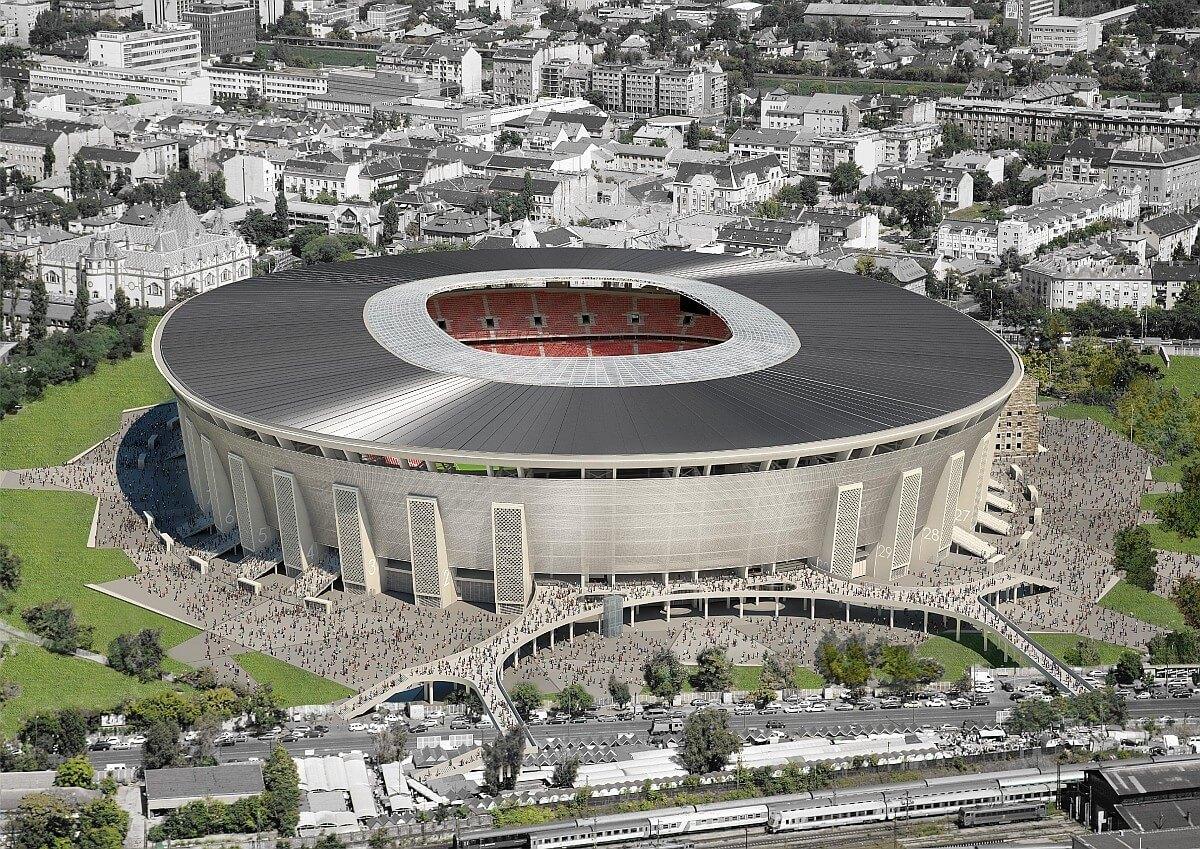 Százszázalékig hazai projektté vált a Puskás-stadion építése
