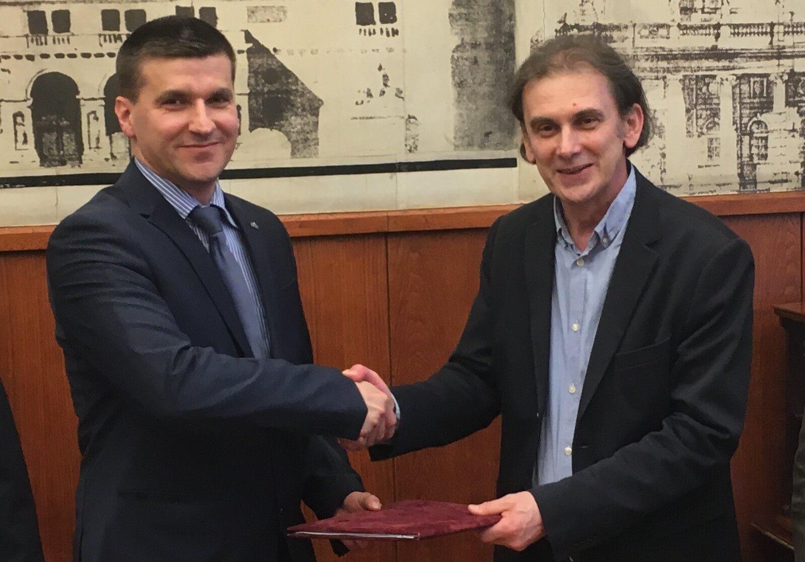 Oktatási együttműködést kötött a Duna Aszfalt és a SZIE Építéstudományi Kara
