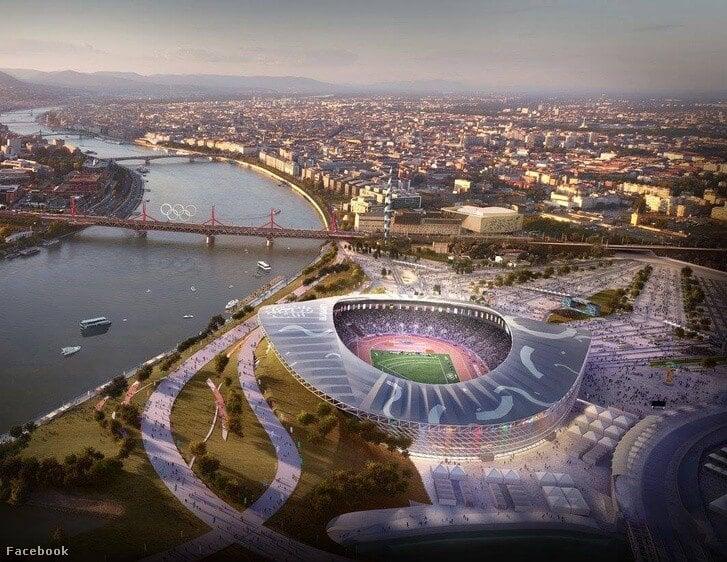Elrajtolt a Budapesti Atlétikai Stadion tervpályázata