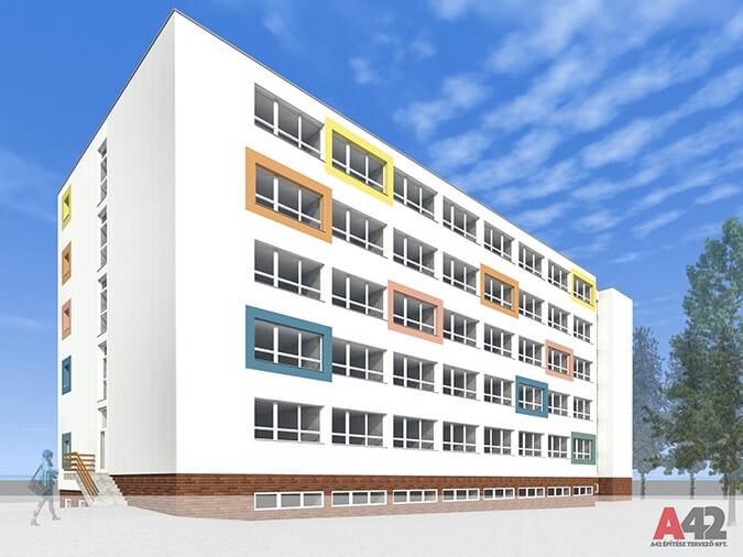 Lakatlan épületből fejleszt munkásszállót Tatabánya