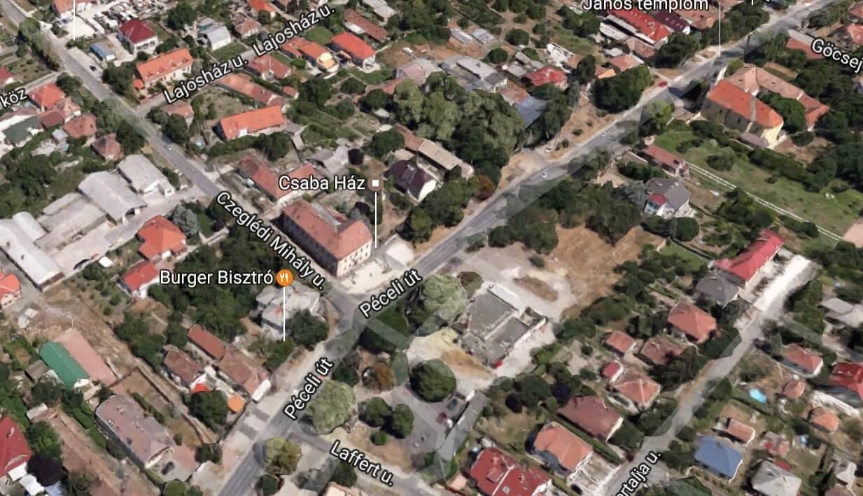A Penta kivitelezésében újul meg Rákoscsaba centruma
