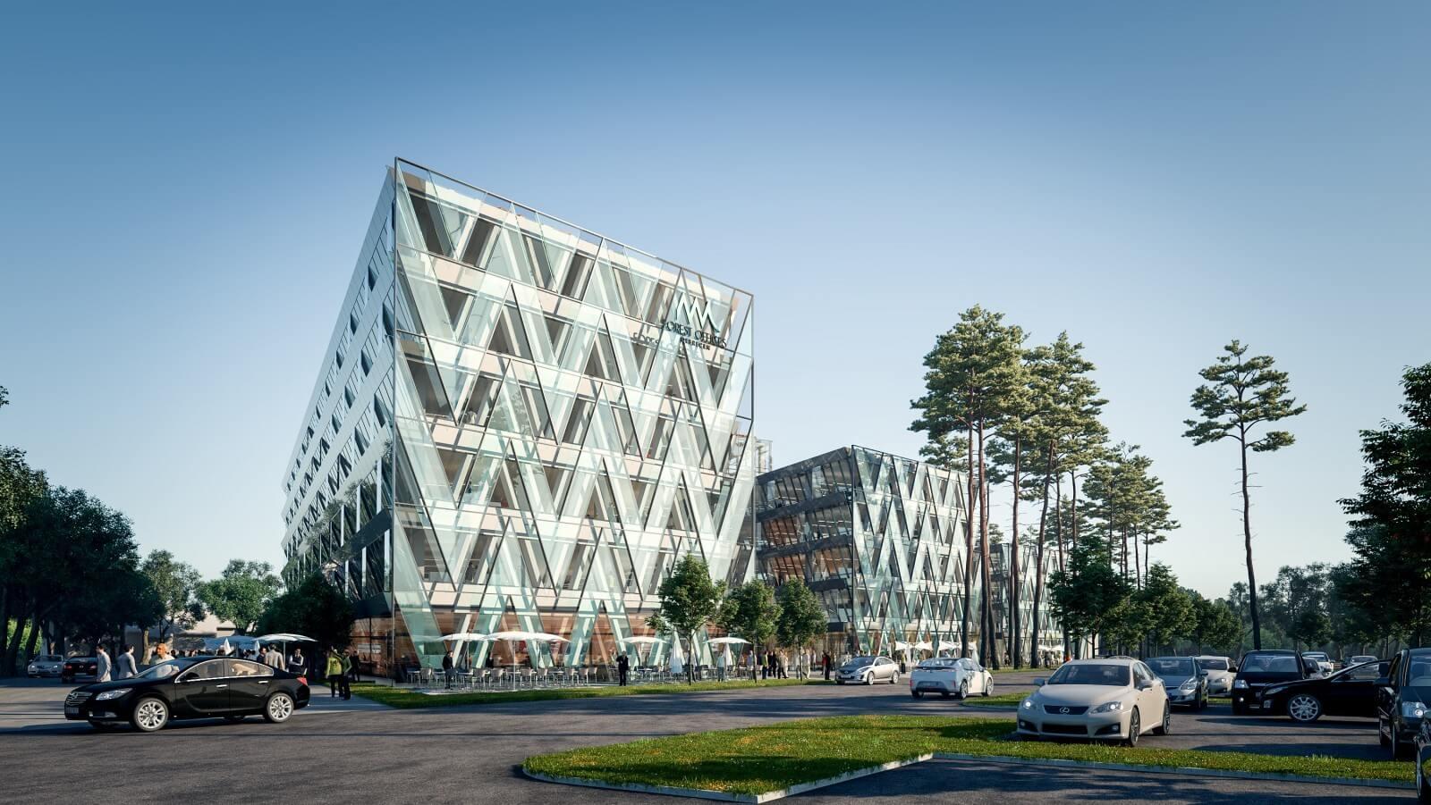 A Hunép építi Kelet-Magyarország legnagyobb irodaházát