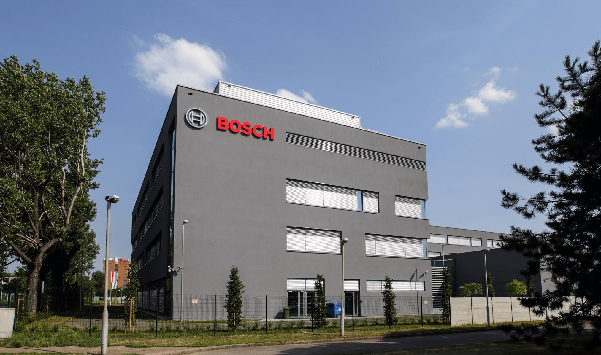 Tesztpályát és új telephelyet épít a fővárosban a Bosch