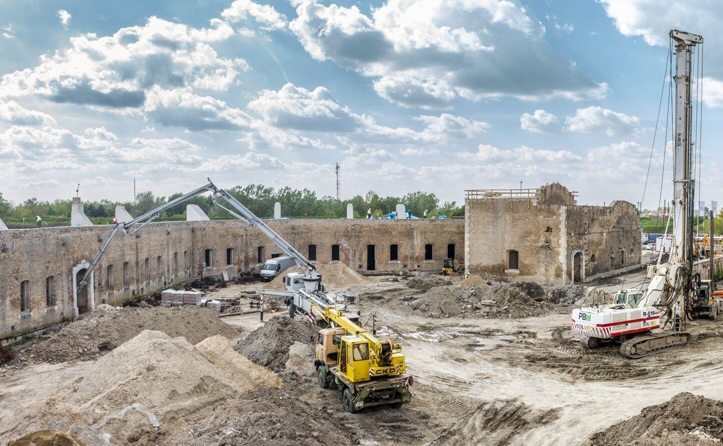 Több mint 30 százalékkal nőtt az építőipar termelése