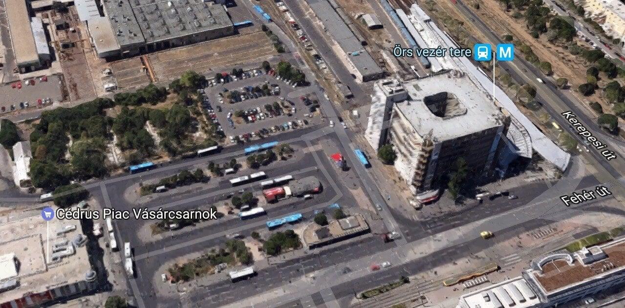 161 új parkoló épül Budapest egyik fő csomópontjához