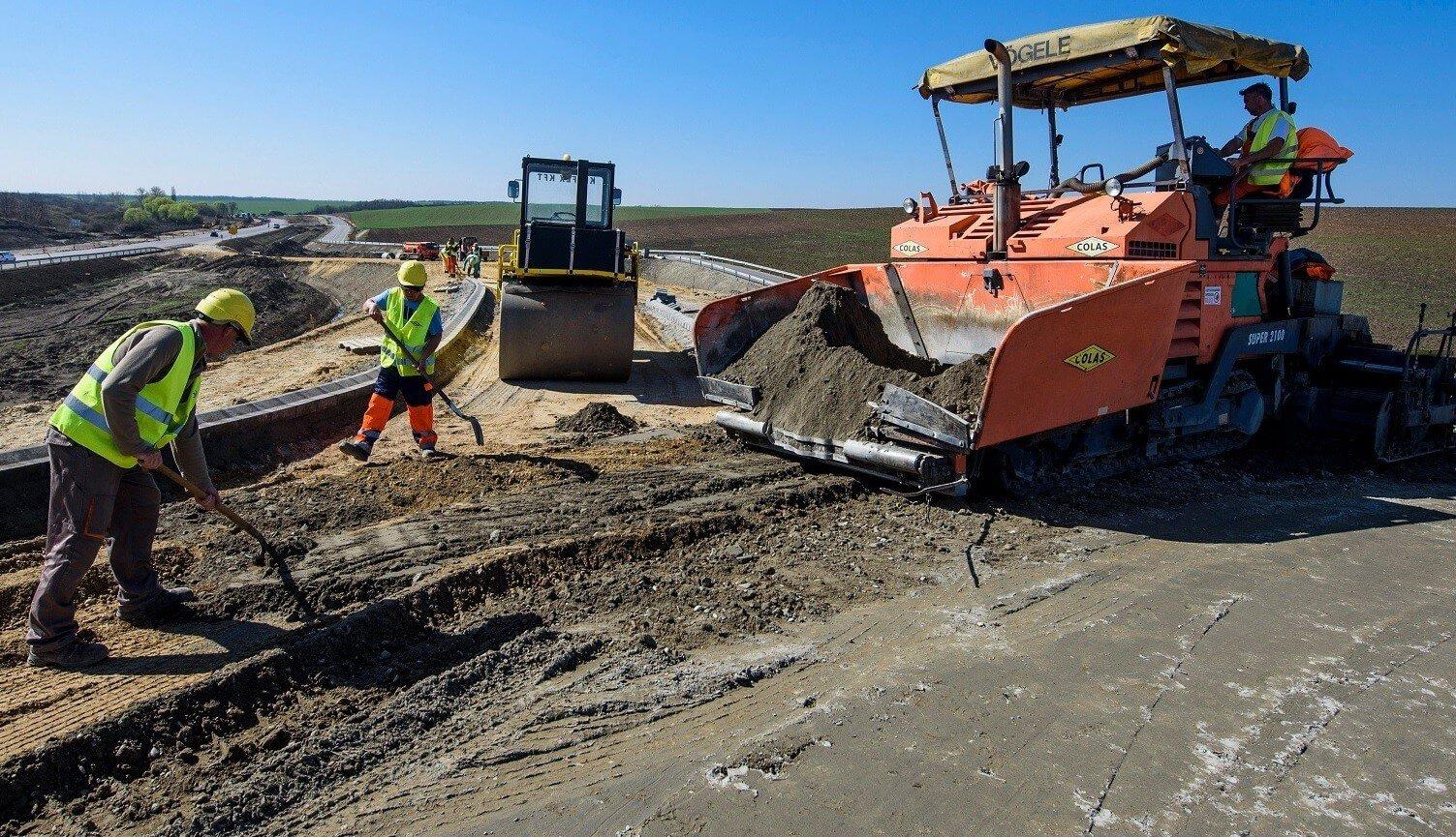 A Colas kivitelezi az egri M25-ös út első projektjeit