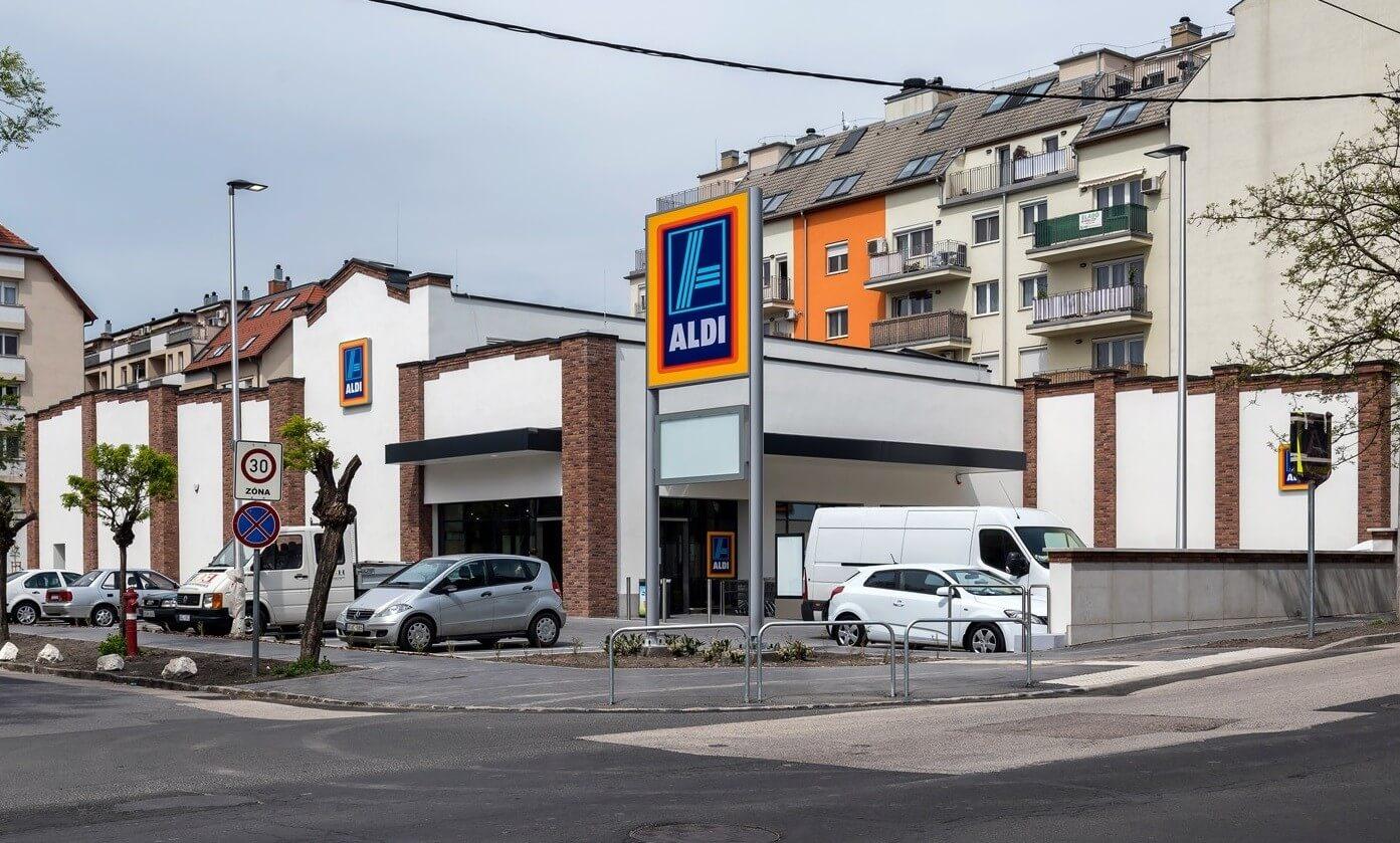 Újabb Aldi-áruház jött létre Budapesten
