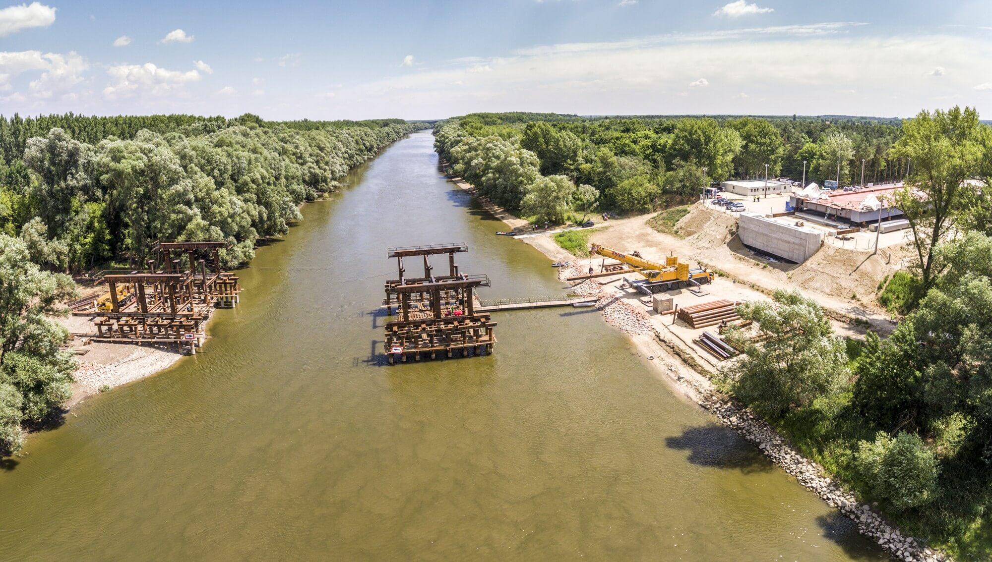 Megnyílt az ország legjelentősebb hídépítésének látogatóközpontja