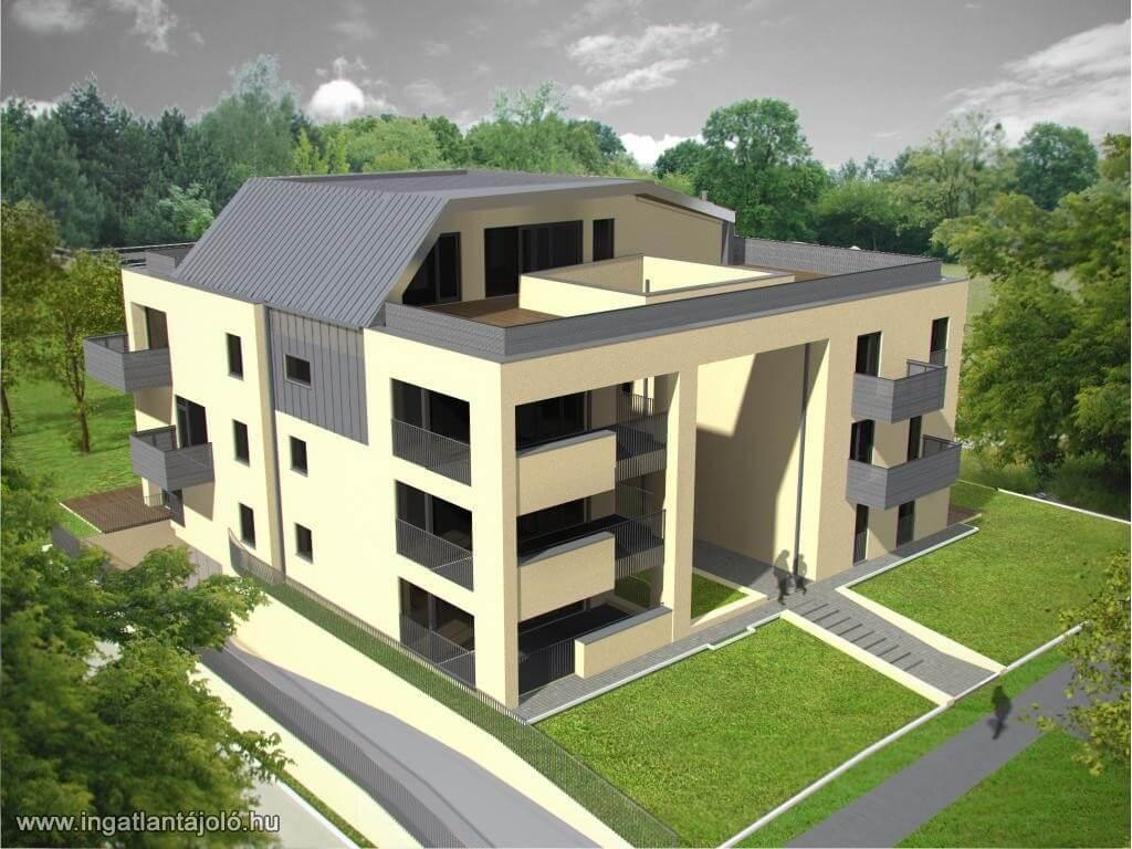 Új lakónegyedet alakít ki a ZÁÉV Zalaegerszeg belvárosában