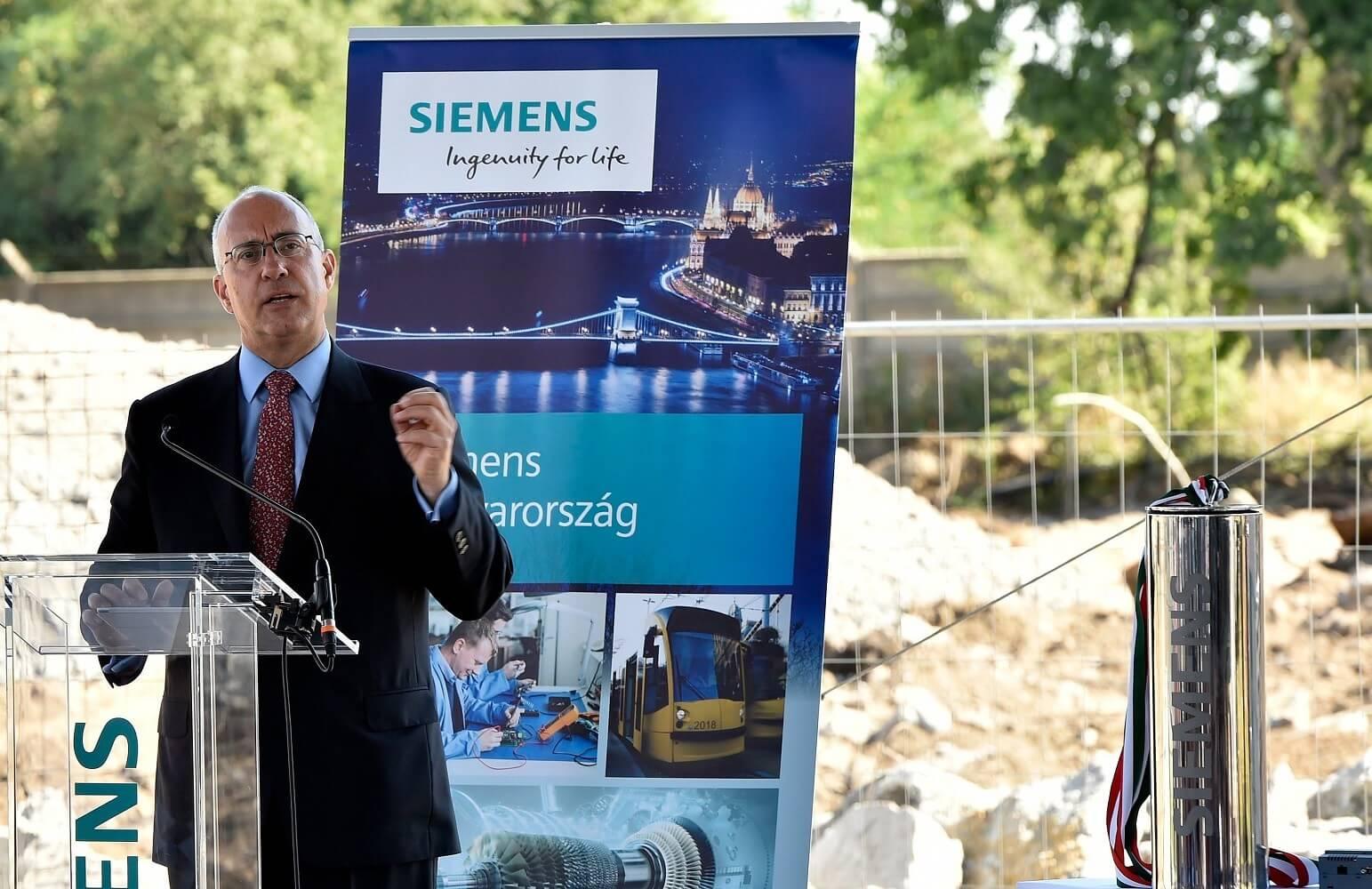 Tízmilliárdos beruházást indított a Siemens Budapesten
