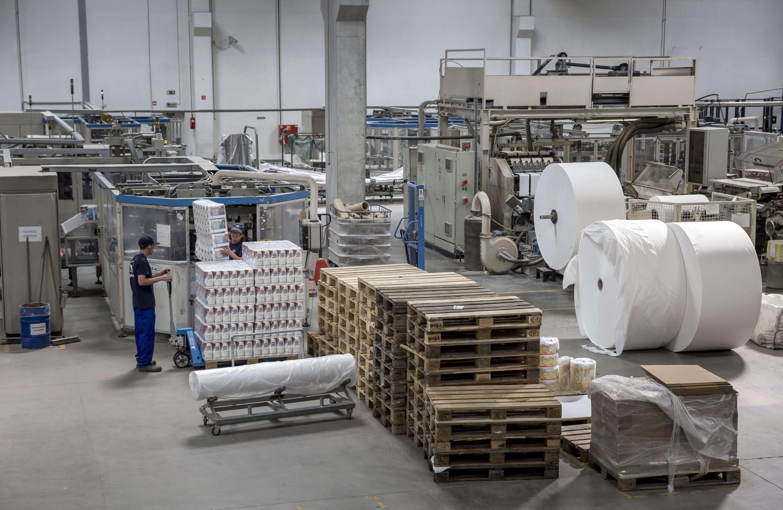 Megkezdődött a 11 milliárdos dunaföldvári papírgyár építése