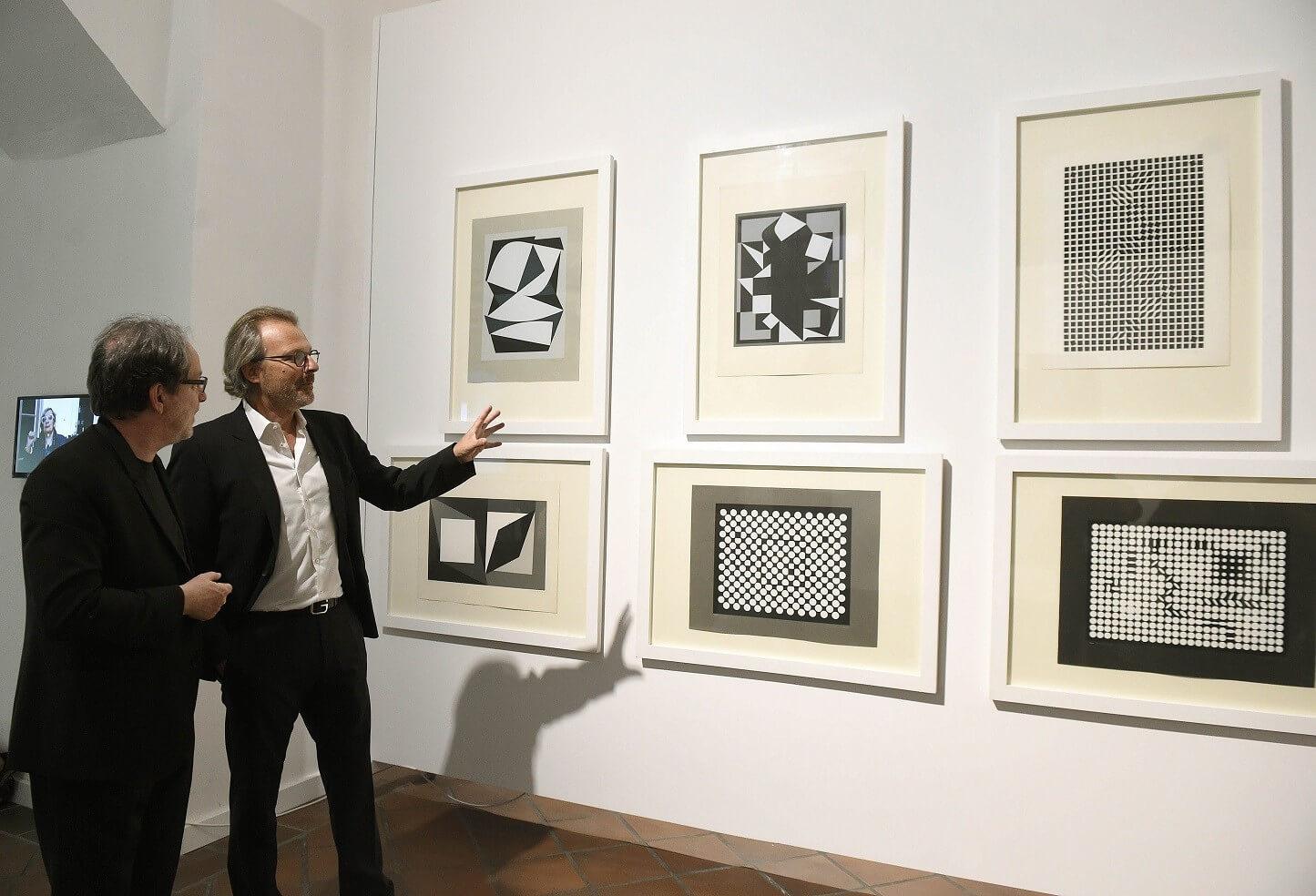 Megújult a Vasarely Múzeumnak otthont adó Zichy-kastély